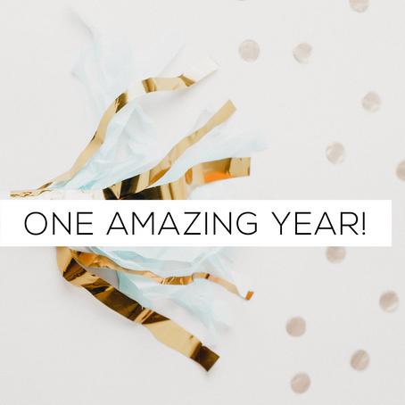 One Amazing Year!