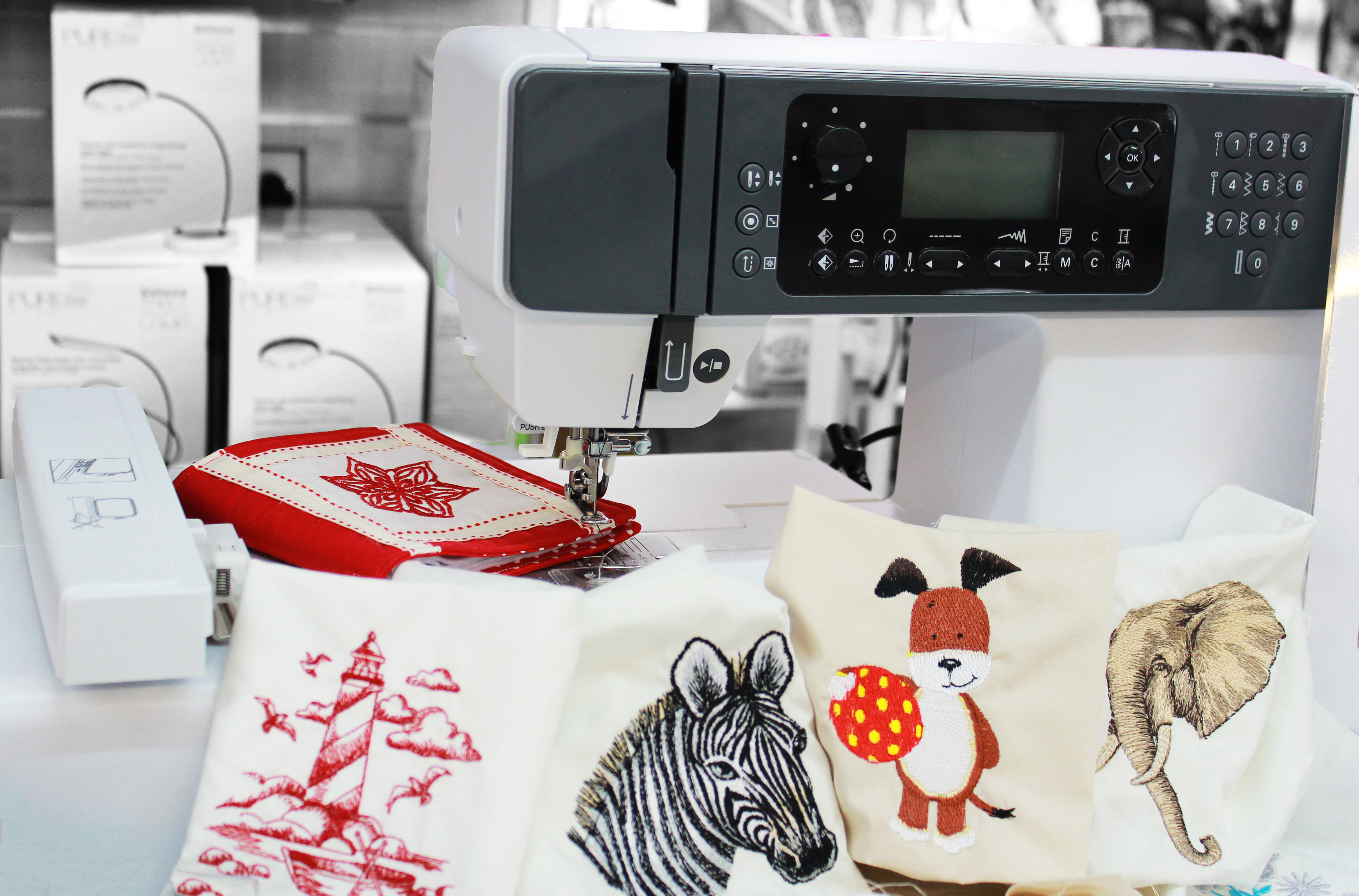 Silver H43BX Embroidery Machine £699