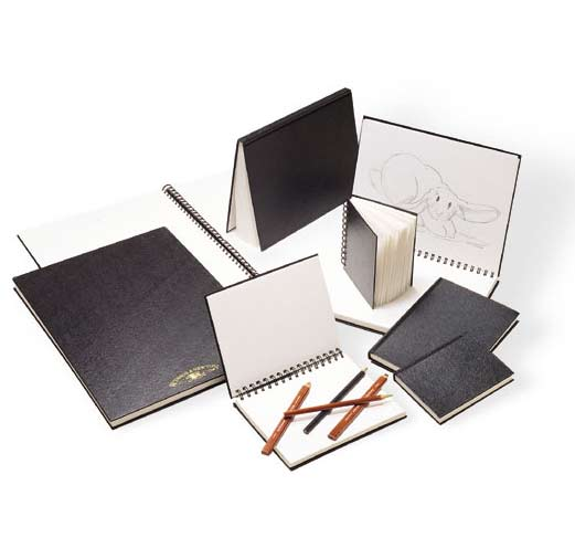 Sketchbooks & Pencils