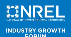 NREL Industry Growth Forum Announces 2020 Presenting Start-Ups