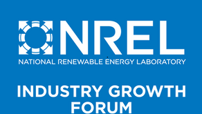 NREL Industry Growth Forum Announces 2020 Presenting Start-Ups