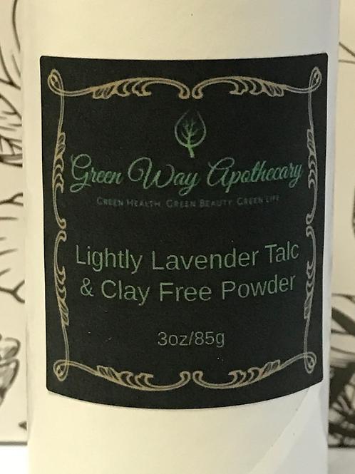 Lightly Lavender Talc & Clay Free Powder