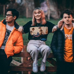 'Blessed Through The TV' latest single by upcoming Art-Gaze trio Cat Ryan