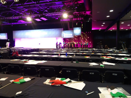 Bakewell Bassoons perform at the TUC Congress!