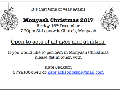 Monyash Christmas!