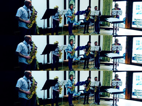 Great day had by all at the Summer Saxophone Day :-)