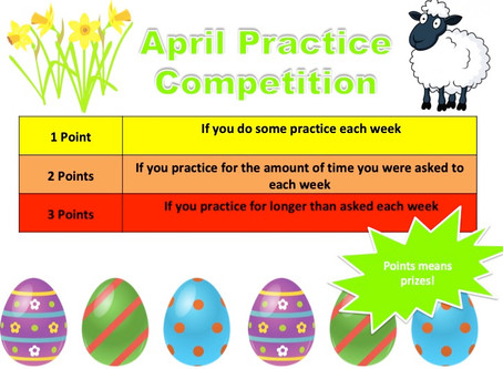 Adapt and Inspire! - April Practice Competition