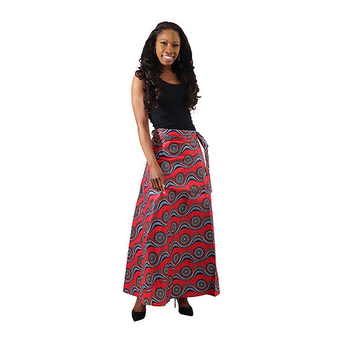 Ankara Wrap Skirt