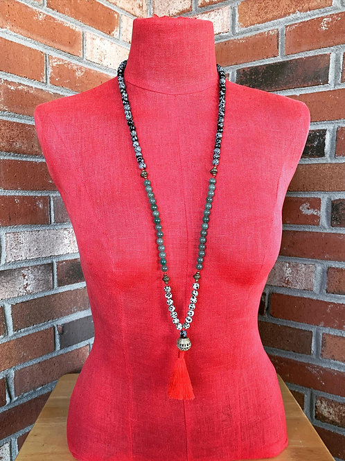 108 knotted Mala Necklace