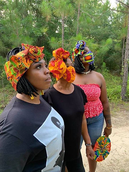 Ankara Head Wraps