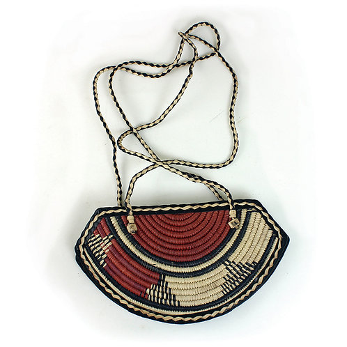 Burkinabe Leather/Sisal Swing Bags