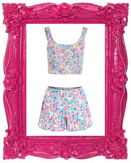 Pansy Print Co-ord
