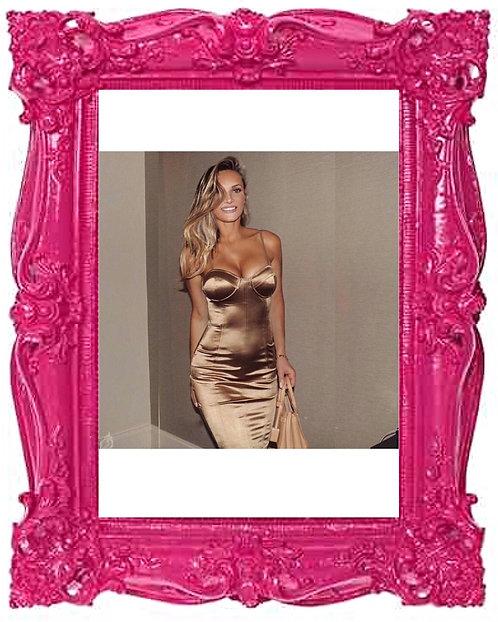 Dream Bodycon Dress Gold