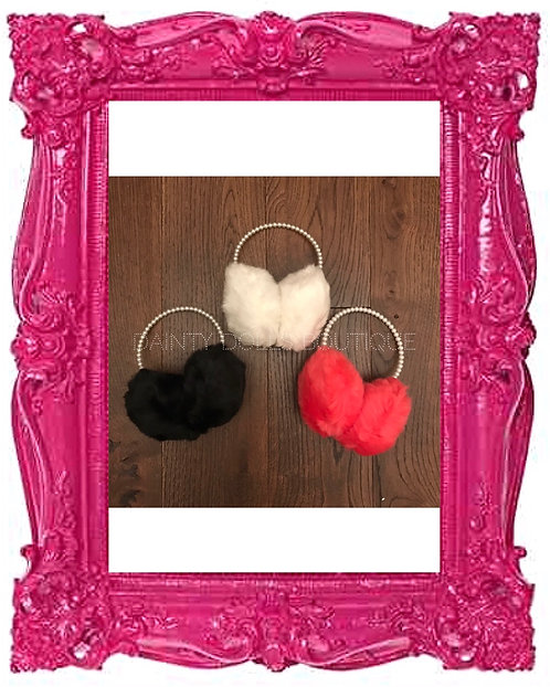 Pearl Faux Fur Earmuffs 5 Colours