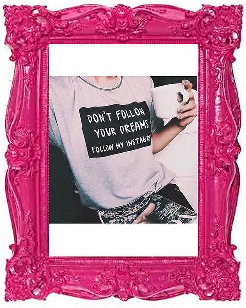 Follow My Instagram T-shirt
