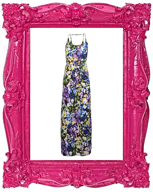Aster Floral Maxi Dress