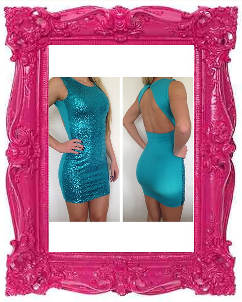 Mermaid Sequin Bodycon Dress