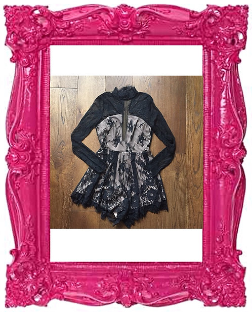 Victoriana Lace Playsuit