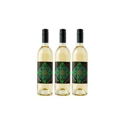 3 bottles of Thank You White