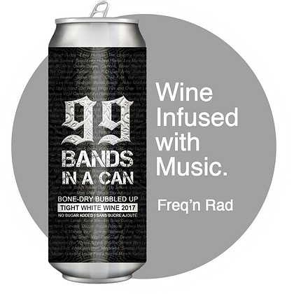 6 Pack 99 Bands In A Can