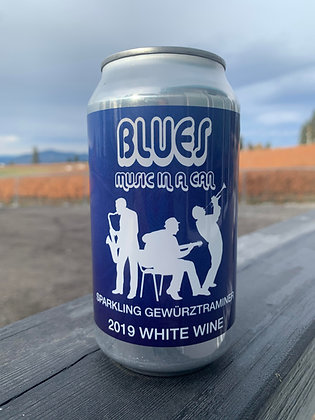 6 Pack - 2019 Blues Music in a Can - Sparkling Gewurztraminer