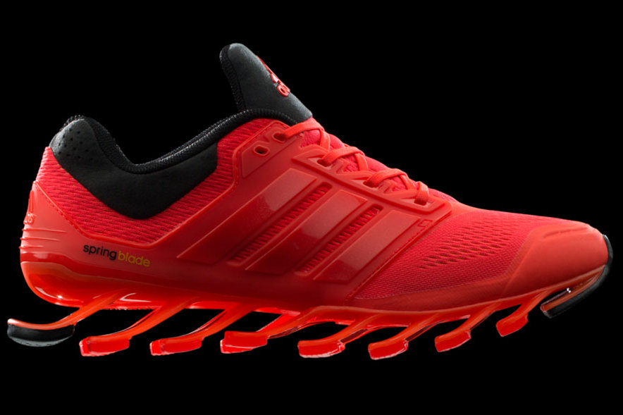 new product 666fc 4bd41 Adidas Springblade Red
