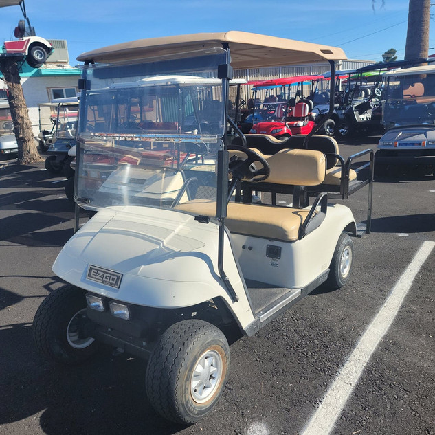 2010 EZGO with backseat