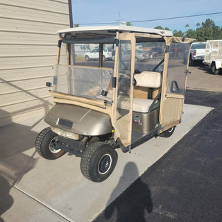 2009 Ezgo with backseat