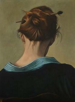 Autoportrait au chignon