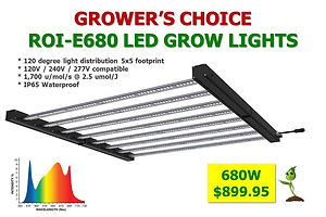 Light LED Growers Choice ROI-E680 899.jp