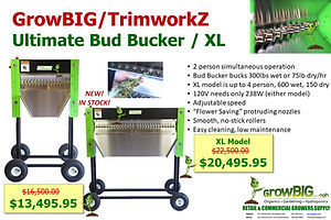 Trimworkz Bud Bucker IN STOCK at GrowBIG Gilroy & Salinas CA