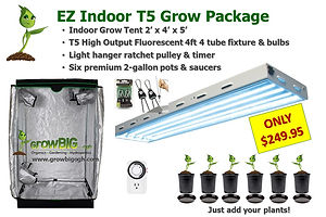 GrowBIG EZ Indoor Grow Light and Tent Package