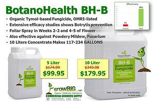 Botano Health BH-B at GrowBIGogh