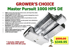 Grower's Choice Master Pursuit only $349