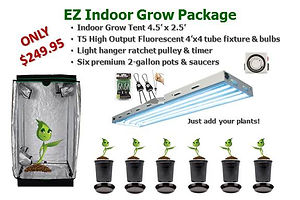 Easy EZ Indoor Grow Light Tent Package Beginner Kit System Sale $249.95