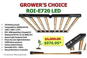 Light LED Growers Choice ROI-E720 976.jp