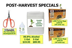 Harvest Specials @ GrowBIGogh