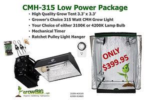 Low Power Indoor Grow Light & Tent only
