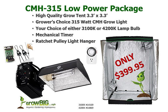 Low Power Indoor Grow Light & Tent only