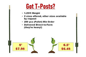 GrowBIG T-Posts