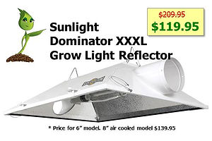Sunlight SunSystem System Dominator XXXL Air Cooled Grow Light Reflector Sale GrowBIGogh Gilroy CA Outlets