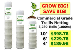 GrowBIG Commercial Grade Trellis rolls @