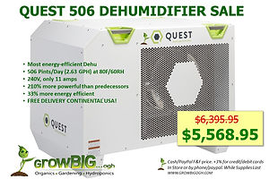 Quest 506 Dehu only $5,568.95 @ GrowBIGo