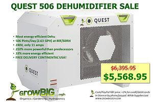 Quest 506 Dehu only $5,568.95 @ GrowBIGo