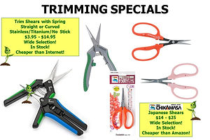 Trim Shears * Great Selection * Discount