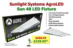 Low Cost Veg LED only $228.95 at GrowBIGogh