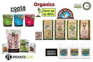 Save BIG on Organic Nutrients at GrowBIG