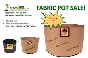 Fabric Pot Sale _ GrowBIG...ogh