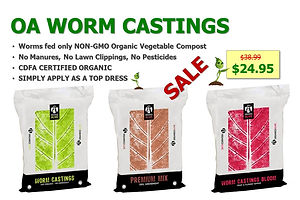 Organics Alive Worm Castings & Amendment