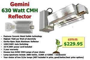 Gemini 630 CMH only $229.95 @ GrowBIGogh